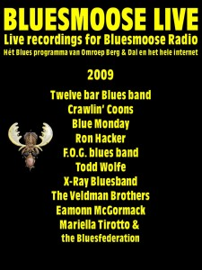 bluesmoose live 2009