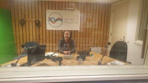 layla in studio omroep